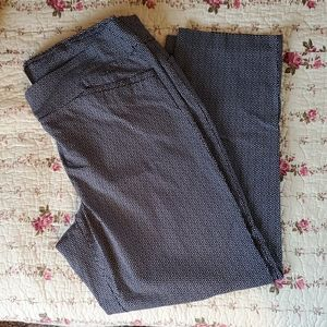Terra & Sky black & white print dress pants sz 1X